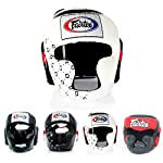 Fairtex Headgear Head Guard Super Sparring HG3, HG10, HG13 Diagonal Vision for Muay Thai, Boxing, Kickboxing from Fairtex