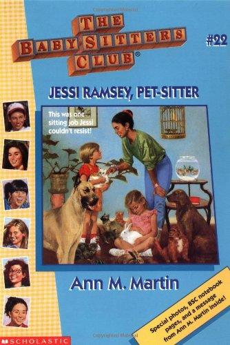 Jessi Ramsey, Pet-Sitter (Baby-Sitters Club (Quality)) back-940294