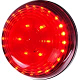 Stalwart  30 LED Magnetic Emergency Flasher , Red