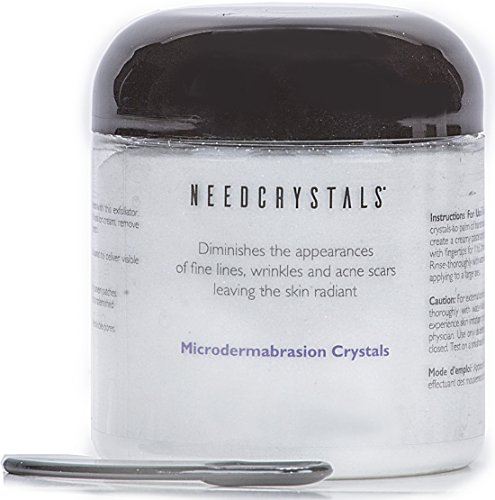 NeedCrystals Microdermabrasion Crystals (8 oz, 120 grit) (Personal Microderm Abrasion compare prices)
