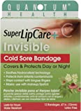 Quantum Health Super Lipcare Plus Invisible Cold Sore Bandage, 12 Count