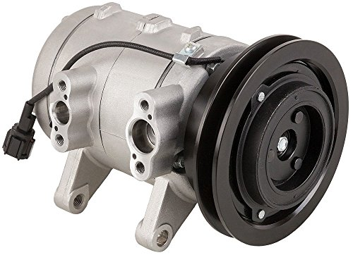 Brand New Premium Quality AC Compressor & A/C Clutch For Frontier & Xterra - BuyAutoParts 60-01420NA New (Nissan Frontier Ac Compressor compare prices)