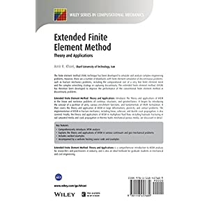 Extended Finite Element Method: Theory and Applications (Wiley Series in Computational Mechanics)