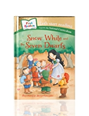 First Readers Snow White & The Seven Dwarves Story Book