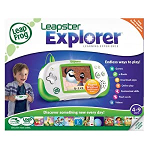 Leapster Explorer #Giveaway