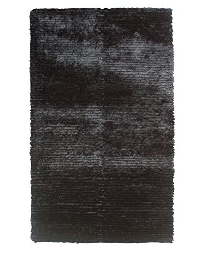 The Rug Market Dotted Motion Rug, Black, 4' 7 x 7' 7