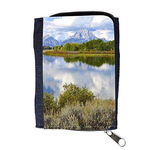 Cartera unisex // F00002418 Parco Nazionale Oxbow Bend Grand Teton // Purse Wallet