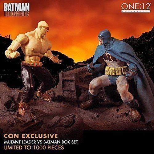 Mezco One:12 Collective The Dark Knight Returns Batman vs Mutant Leader SDCC Exclusive Diorama Statue by Mezco