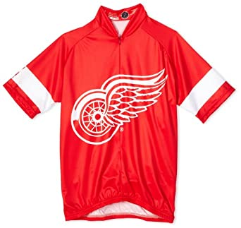 NHL Detroit Red Wings Mens Cycling Jersey by VOmax