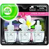 Air Wick Scented Oil Air Freshener, National Park Collection, Virgin Islands, 3 Refills, 0.67 Ounce