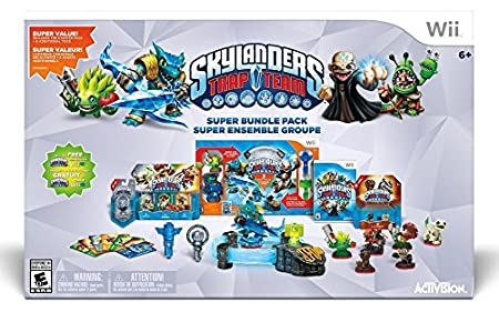 Skylanders Trap Team Holiday Bundle Pack - Wii