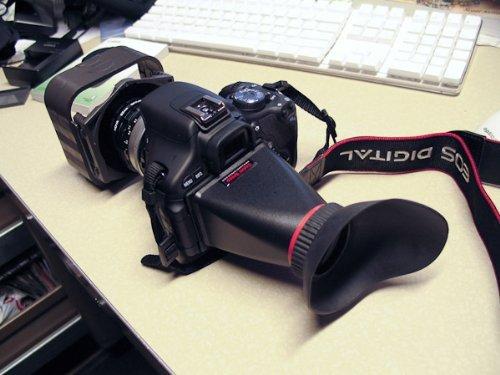 "2.5X 3"" Lcd View Finder 4:3 Fits Canon 5D Ii, 7D, Nikon Digital Slr Lcdvf Z-Finder"