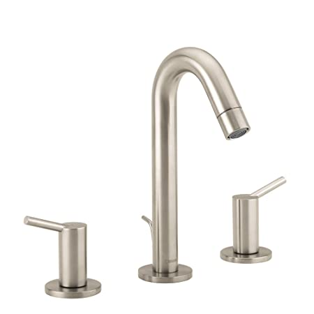 Hansgrohe 32310821 Talis S Widespread Faucet, Brushed Nickel