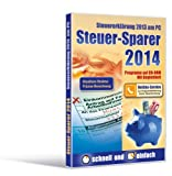 Software - Steuer-Sparer 2014, CD-ROM Steuererkl�rung 2013 am PC. Programm auf CD-ROM. F�r Windows XP SP2 / Vista / 7 / 8