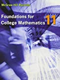 Foundations for College Mathematics 11 Student Edition