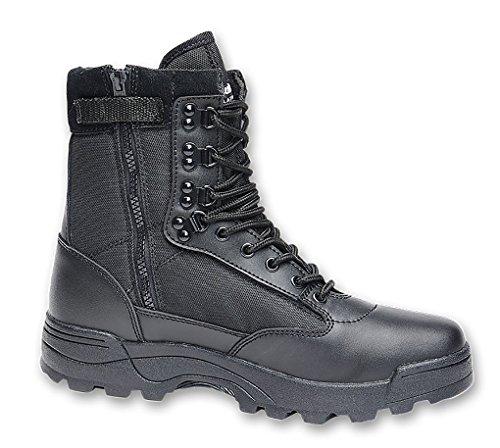 BRANDIT Scarponi Stivali Anfibi uomo unisex Trekking Tactical Zipper Boots 42