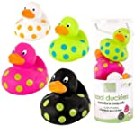 Kushies Baby Bath Floaters, 4-Piece,...