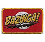 TBBT The big bang theory BAZINGA Sheldon Cooper Season Aufnäher Patch
