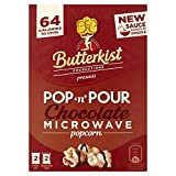 Butterkist Pop & Pour Microwave Popcorn - Chocolate (220g)