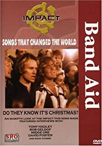 Impact Songs That Changed The World Band Aid - Do They Know Its Christmas Bob Geldof Midge Ure Smokey Robinson John Oates from STANDING ROOM ONLY