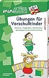 miniLÜK-Sets: miniLÜK-Set: Übungen für Vorschulkinder: Erkennen - Vergleichen - Kombinieren: