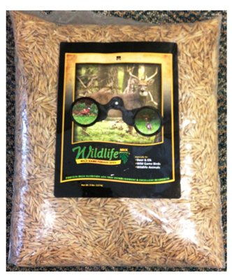 Dlf International Seeds WILUN005 Wildgame Pasture Mix, 5-Lbs. - Quantity 8