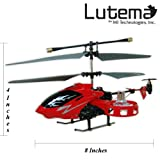 Lutema Avatar Hovercraft 4CH Remote Control Helicopter, Red
