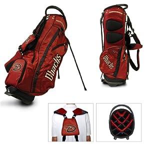 MLB Arizona Diamondbacks Fairway Stand Golf Bag, Black by Team Golf
