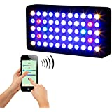 GalaxyhydroTM WiFi & Manual Control 55×3w Dimmable 165w LED Aquarium Light