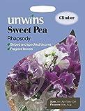 Unwins Pictorial Packet - Sweet Pea Rhapsody - 21 Seeds
