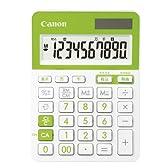 Canon 電卓 LS-103TUC-GR SOB 10桁 抗菌仕様 千万単位表示 税計算可 ミニ卓上グリーンモデル