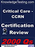 img - for Critical Care CCRN Certification Review (Certification in Critical Care Nursing Book 1) book / textbook / text book