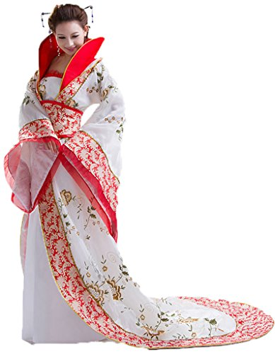 Chinese Ancient Costume Women's Princess Dress Trailing Empress Halloween Cosplay