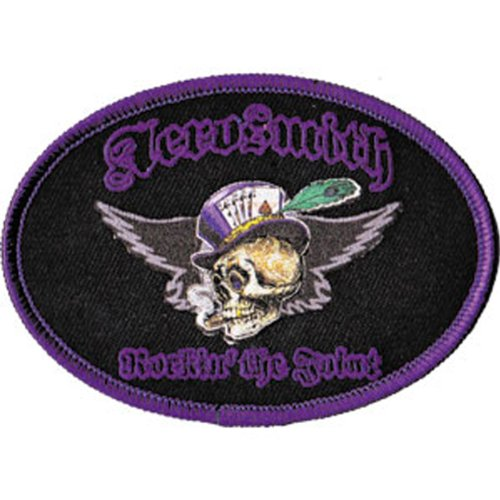 Application Aerosmith Top Hat Skull Patch