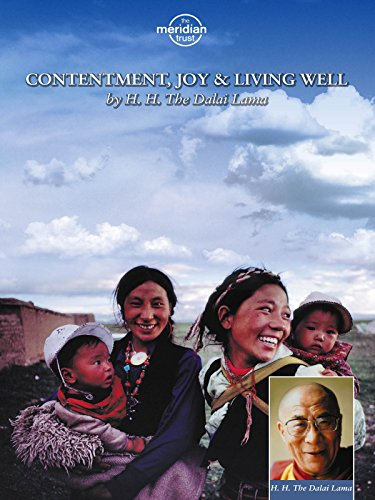 H.H. Dalai Lama - Contentment, Joy And Living Well