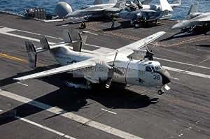C 2a Greyhound Logistics Aircraft Amazon.com: Photograph...