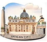 Vatican City Italy Italian Catholic Church EMagnet Souvenir Thailand Handmade Design
