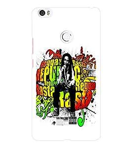 EPICCASE Graffiti bob marle Mobile Back Case Cover For Xiaomi Mi Max (Designer Case)