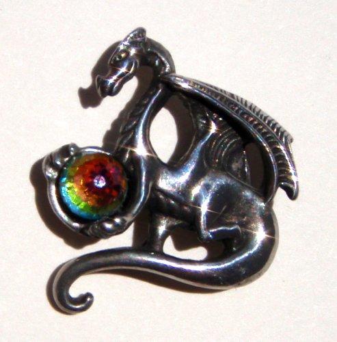 Orb Dragon Pin