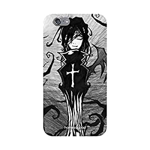 HomeSoGood Gothic Vampire Grey 3D Mobile Case For iPhone 6S (Back Cover)