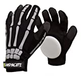 Landyachtz Freeride Slide Gloves - Bones - Small
