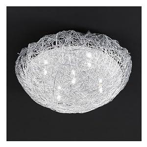 Plafonnier design boule xl 140 w luminaires et for Luminaire plafonnier boule