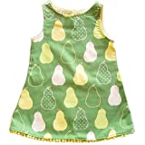 Jen Jen Green Pear Pom Pom Dress