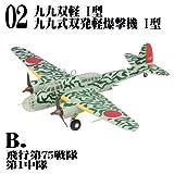 1/144 WORK SHOP Vol.30 双発機コレクション4 [2B.九九式双発軽爆撃機 I型 飛行第75戦隊 第1中隊](単品)