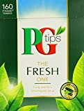 PG Tips The Fresh One Pyramid Teabags - Pack of 4, Total 640 Teabags