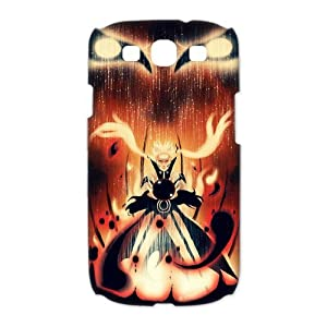 Custombox Uzumaki Naruto Samsung Galaxy S3 I9300 Case Hard Case Plastic Hard Phone Case-Samsung Galaxy S3-DF00646