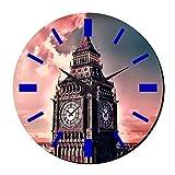 MeSleep Clock Tower Wall Clock With Glass Top
