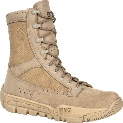 """Rocky Men's 8"""" C5C Commercial Military Boots-RKYC003"""