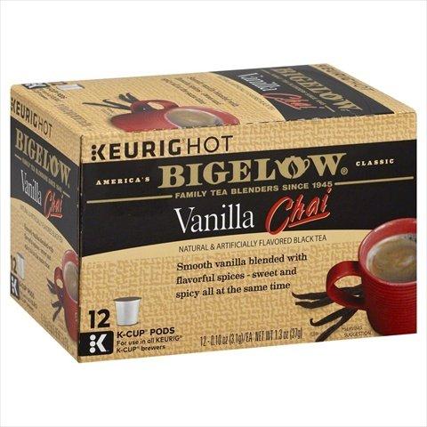 Bigelow Vanilla Chai Black Tea K-Cup Pods - Case Of 6 - 12 Ea (Keurig Bigelow Chai Tea compare prices)