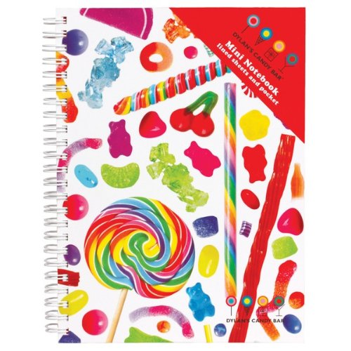 Dylan's Candy Bar Mini Notebook - Candyspill